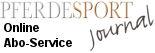 Pferdesport Journal-Banner