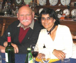 Prof. Dr. Weirich mit Tochter