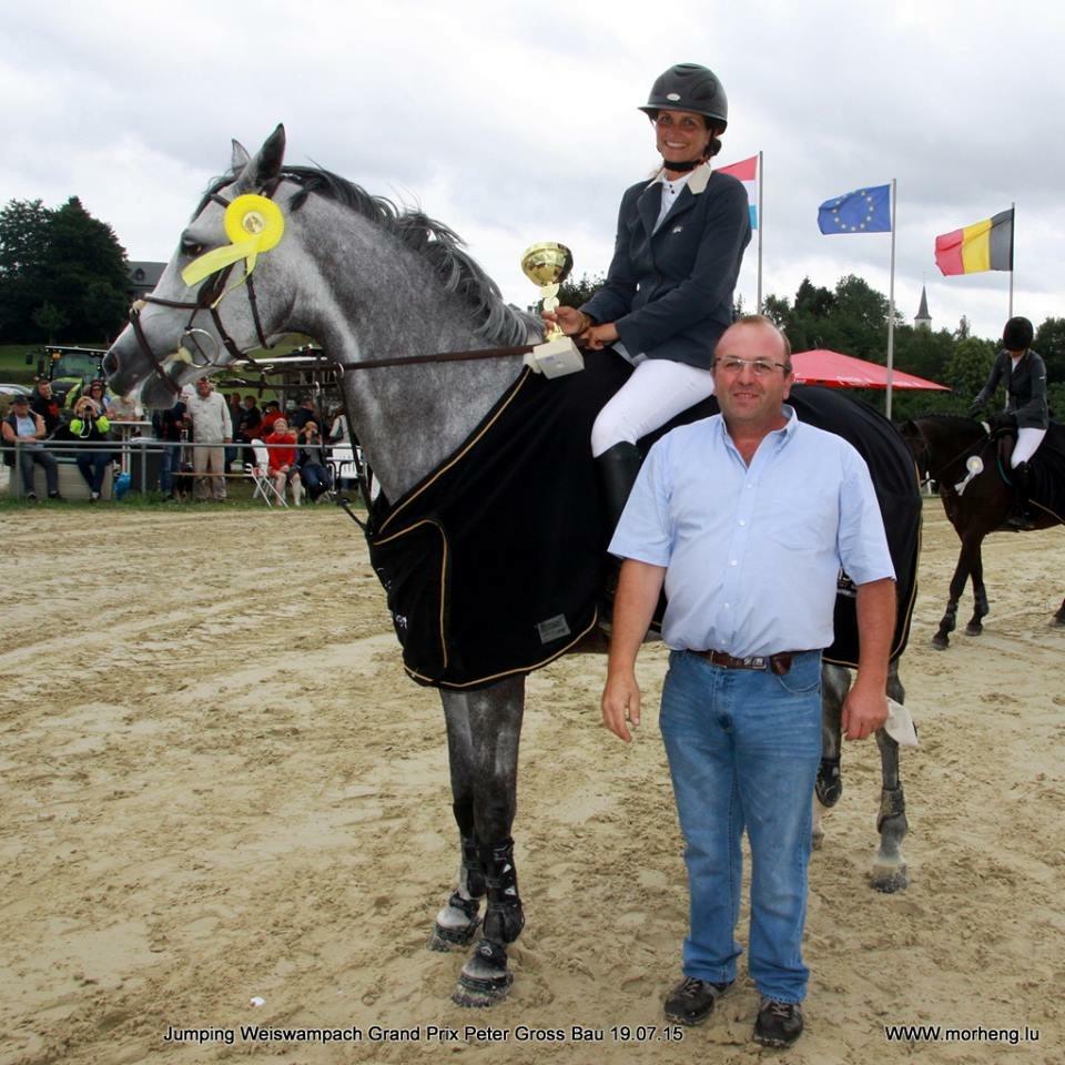 Katja Haepp Siegerin GP Weiswampach S**