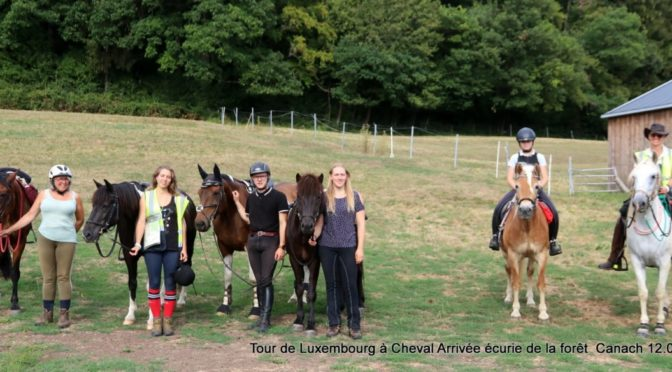 Tour de Luxembourg à Cheval